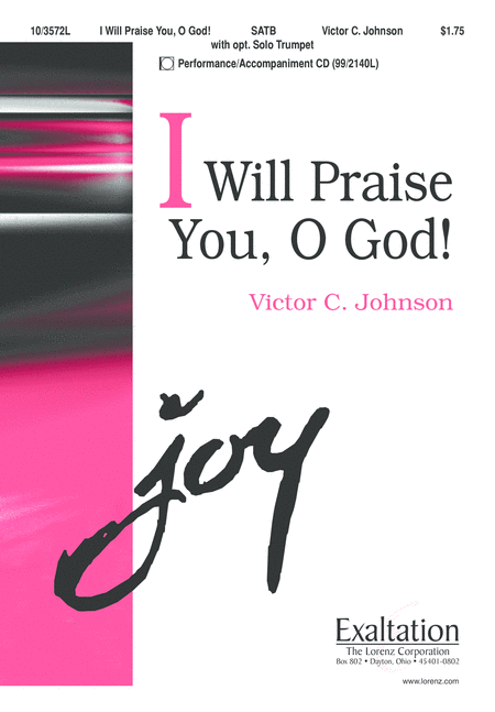 I Will Praise You, O God!