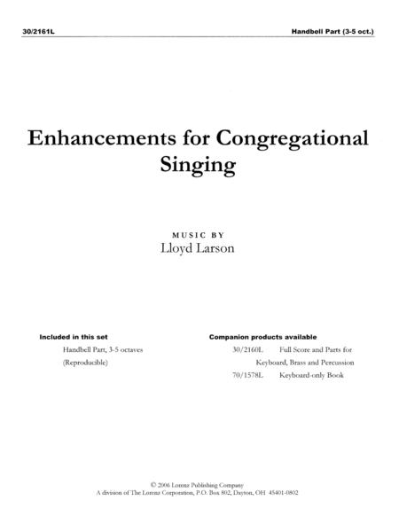 Enhancements for Congregational Singing - Handbell Part (reproducible)
