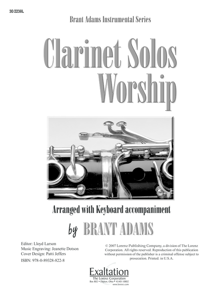 Clarinet Solos for Worship
