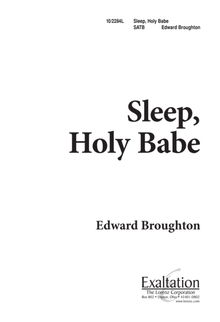 Sleep, Holy Babe