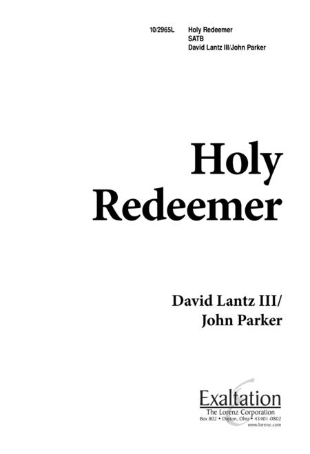 Holy Redeemer - SATB