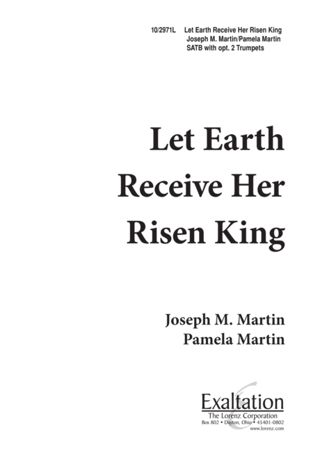 Let Earth Receive Her Risen King
