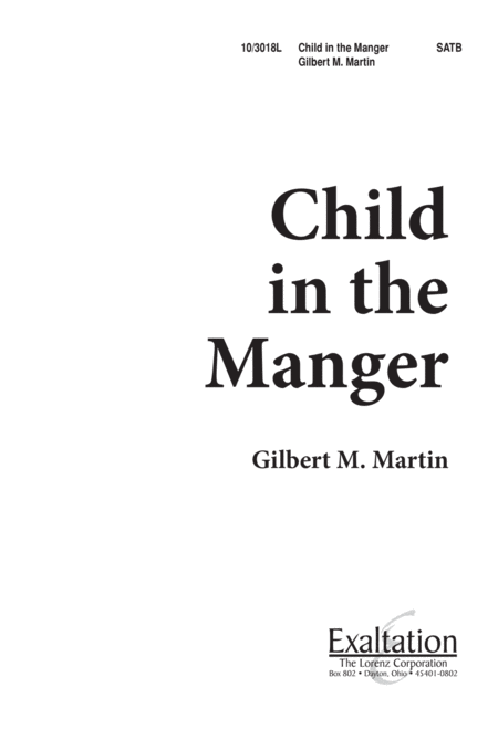 Child in the Manger