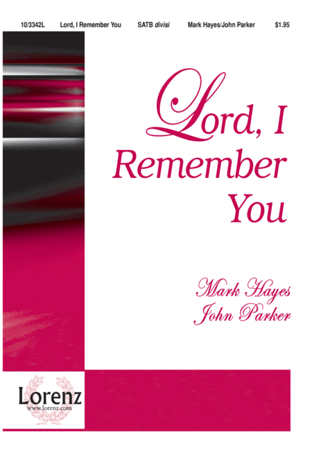 Lord, I Remember You
