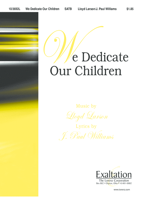We Dedicate Our Children