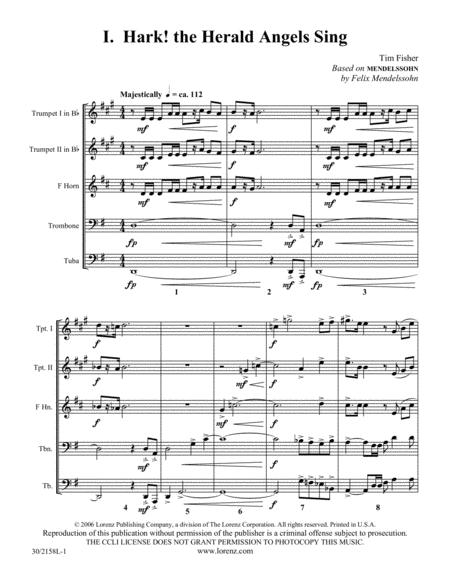 Christmas Suite for Brass Quintet