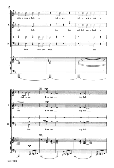 Toccata for Voices