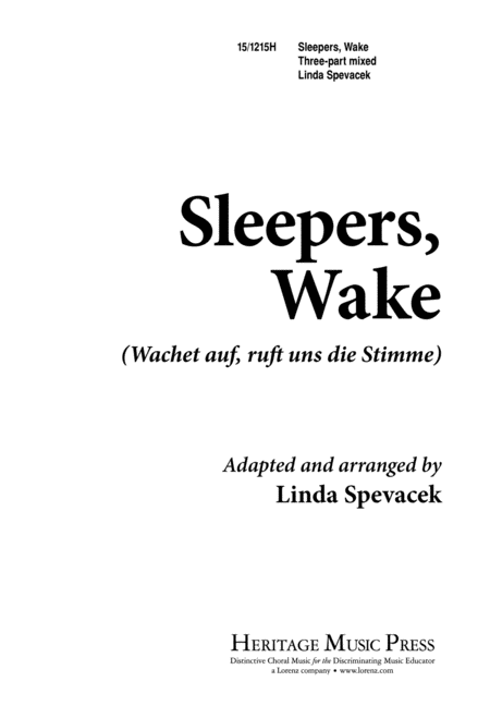 Sleepers' Wake