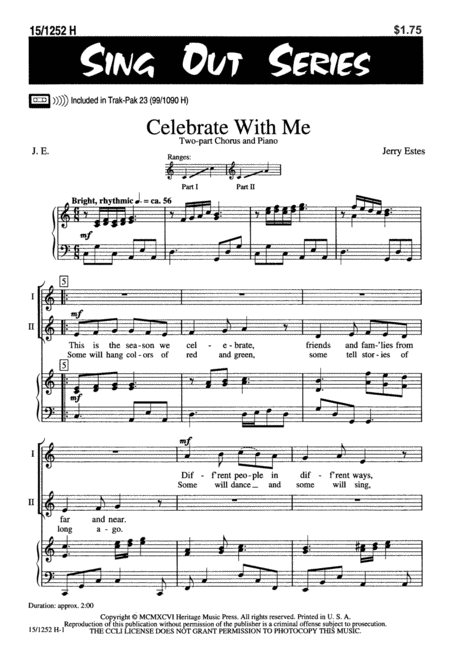 Celebrate with Me