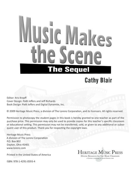 Music Makes the Scene: The Sequel