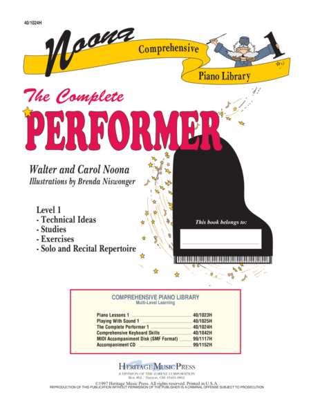 Noona Comp Piano Complete Performer Level 1