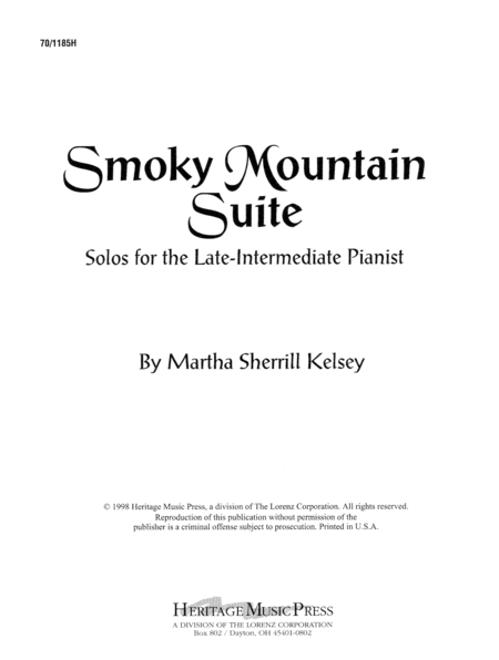 Smoky Mountain Suite
