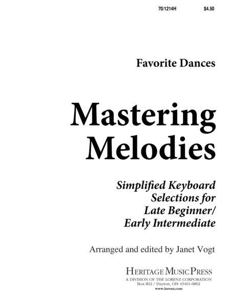 Mastering Melodies: Favorite Dances