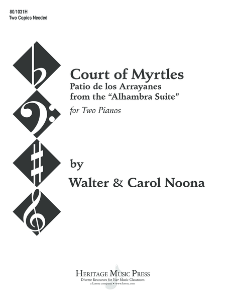 Court of Myrtles - Piano Duet