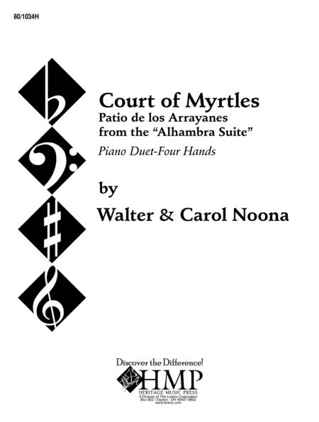 Court of Myrtles - Piano 4 Hands