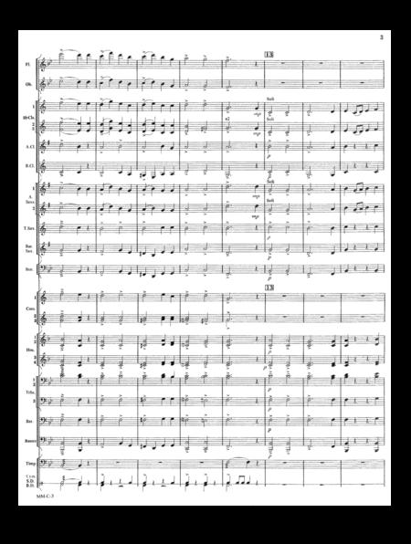 Marche Militaire Francaise Condensed Score
