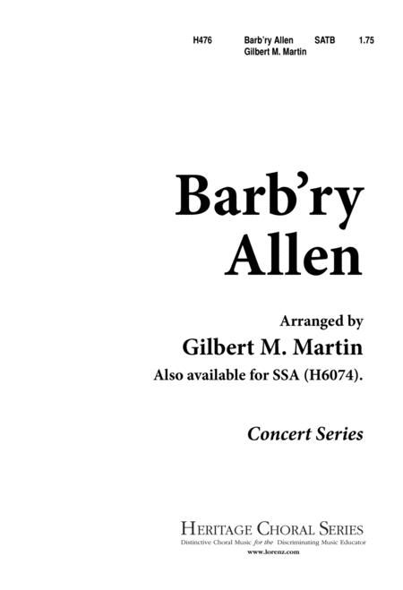 Barb'ry Allen