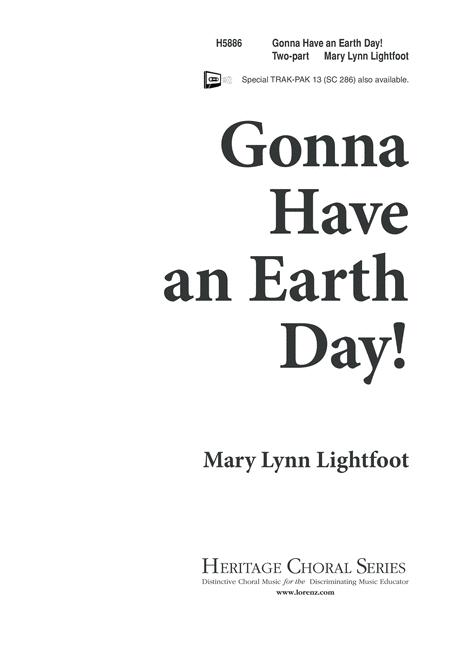 Gonna Have an Earth Day