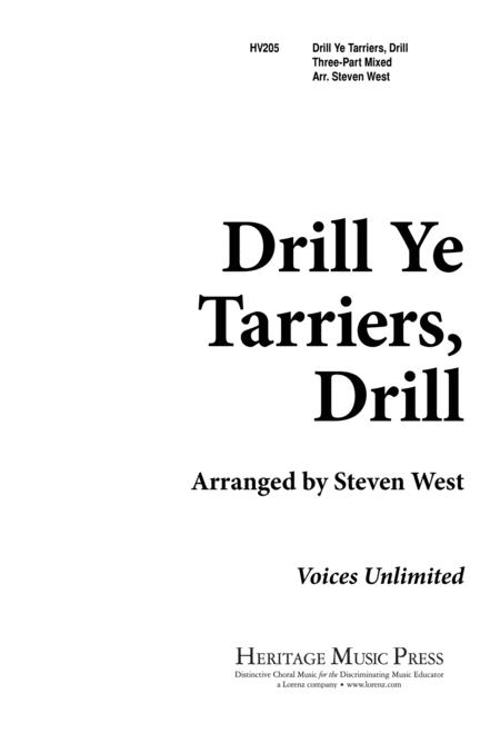 Drill Ye, Tarriers, Drill
