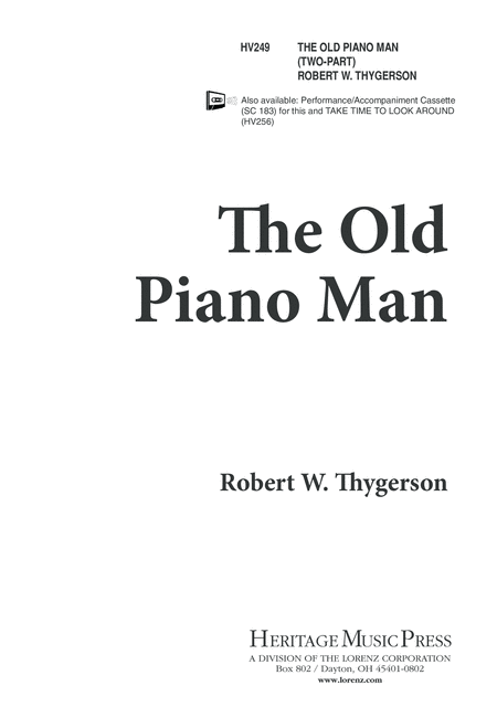 The Old Piano Man