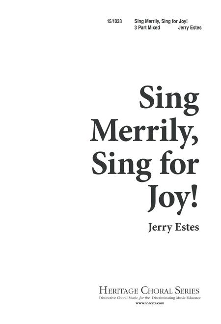 Sing Merrily, Sing for Joy