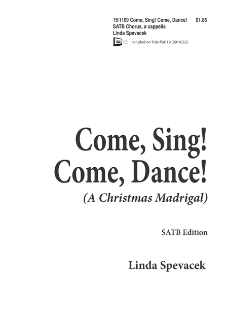 Come Sing, Come Dance