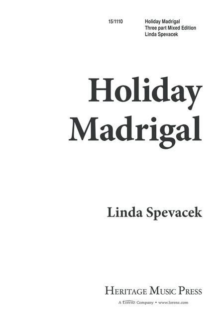 Holiday Madrigal