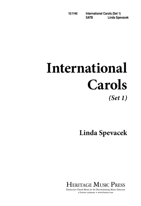 International Carols, Set I
