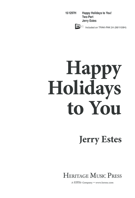 Happy Holidays to You