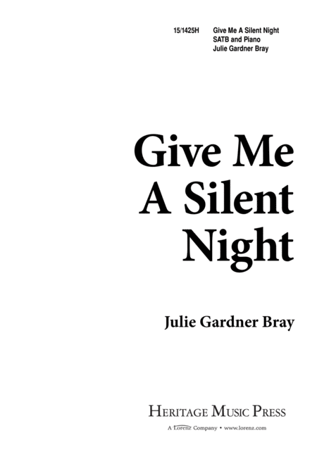 Give Me a Silent Night
