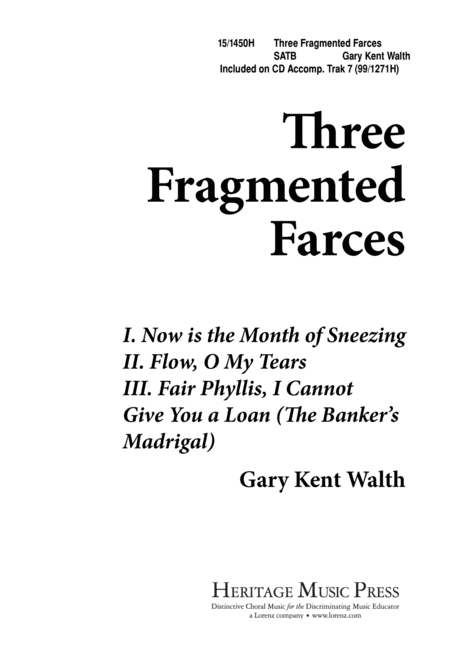 Three Fragmented Farces