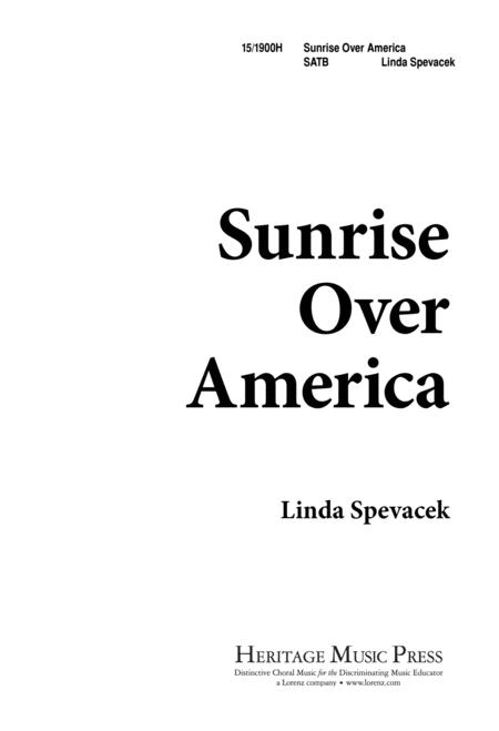 Sunrise Over America