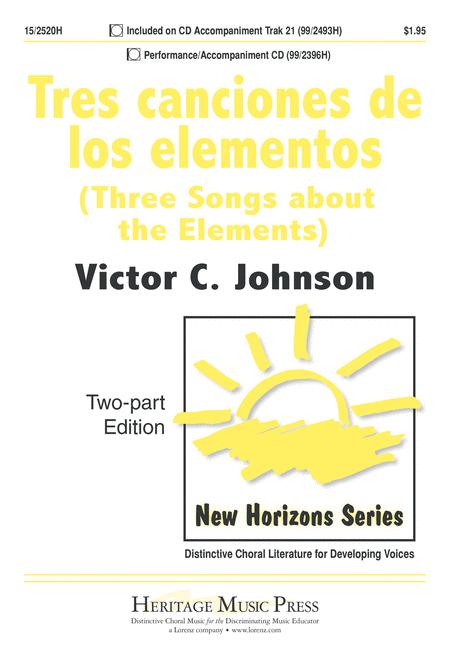 Tres canciones de los elementos