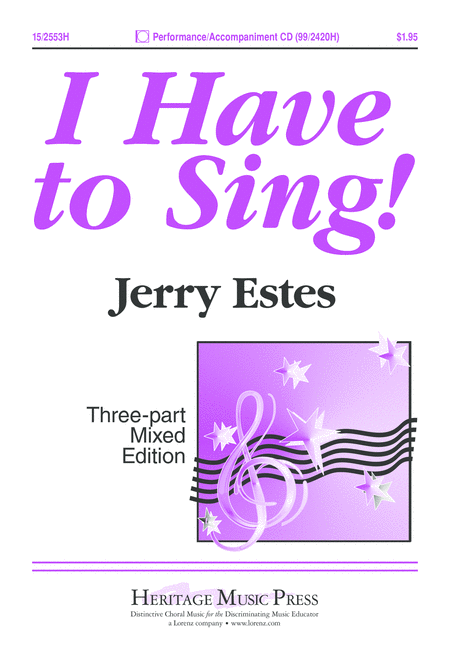 I Have to Sing!