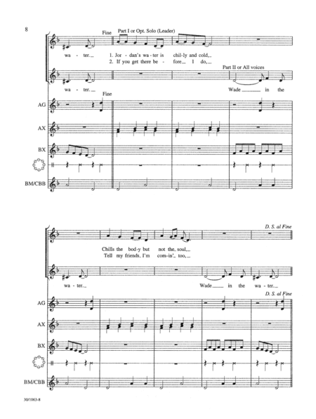 Orffestrations for Spirituals