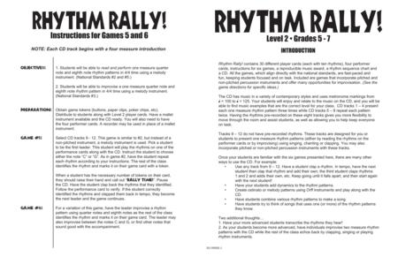 Rhythm Rally! - Level 2