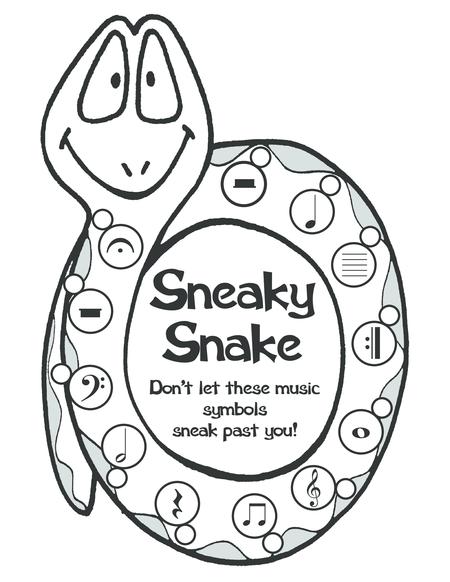 Music Proficiency Pack #2 - Sneaky Snake