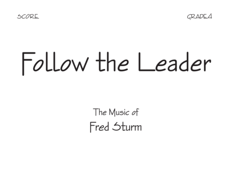 Follow The Leader - Score