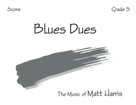 Blues Dues - Score