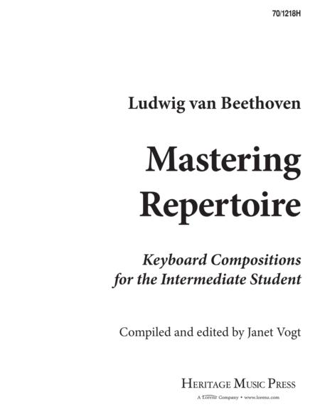 Mastering Repertoire: Beethoven