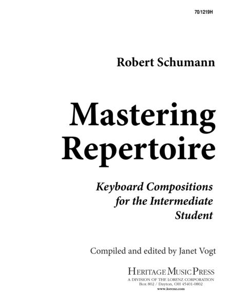Mastering Repertoire: Schumann