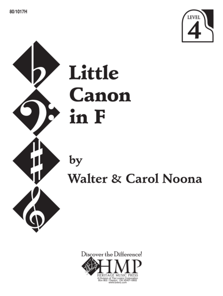 Little Canon in F