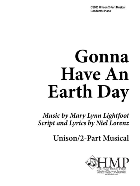 Gonna Have an Earth Day - Director's Edition