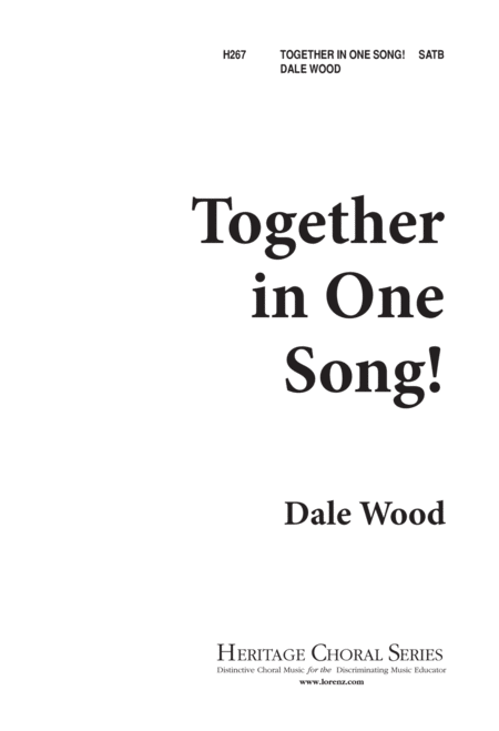 Together in One Song