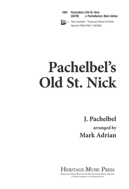 Pachelbel's Old St. Nick