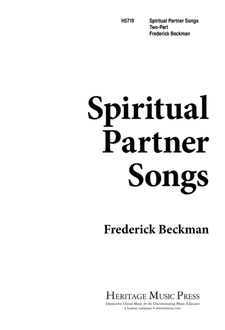 Spiritual Partner Songs