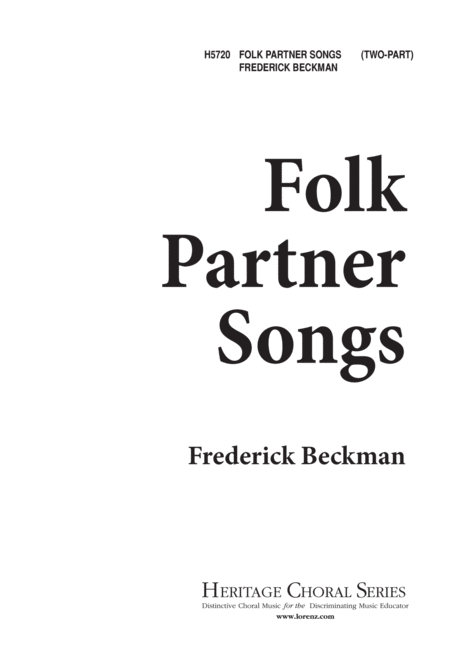 Folk Partner Songs