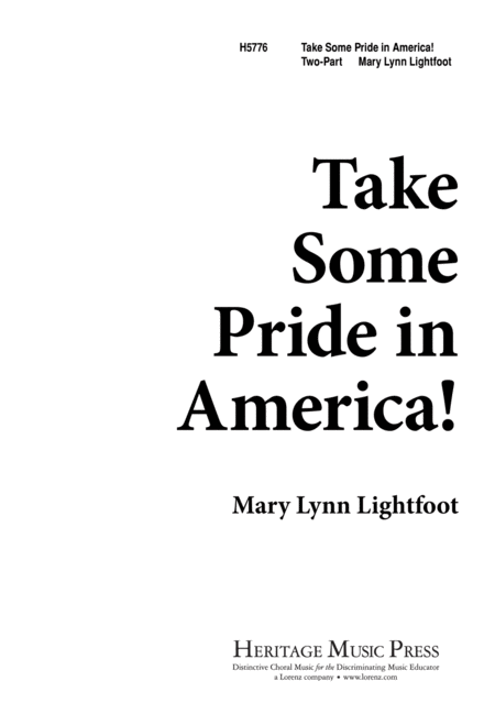 Take Some Pride in America