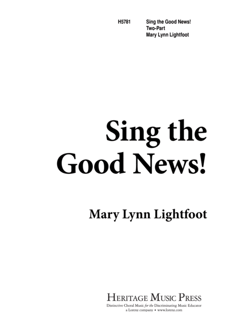 Sing the Good News