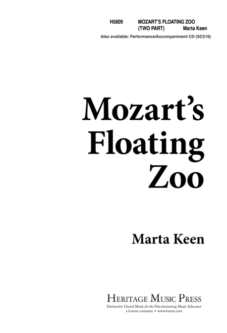 Mozart's Floating Zoo